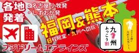 【九州ふっこう割】FDAで行く!福岡&熊本への旅