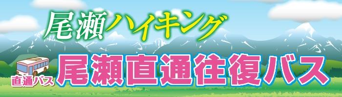 尾瀬直通往復バス(鳩待峠・大清水)