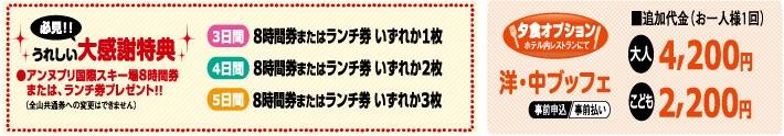 大感謝!スペシャル企画inニセコノーザンリゾートアンヌプリ特典画像