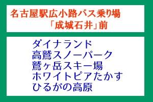【朝発】名古屋駅広小路口集合場所