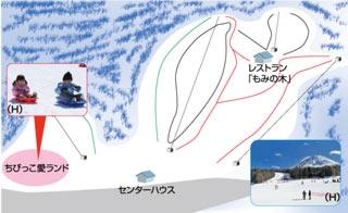 ふじてんスノーリゾート(関東発着)ゲレンデマップ