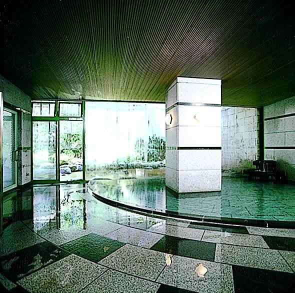 客室と大浴場