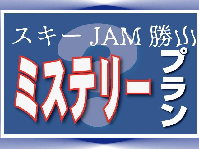 WEB限定!ミステリーツアー☆スキージャム勝山 【夜発バスプラン】イメージ画像