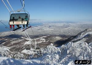名古屋中部発北海道 全日空で行く札幌 札幌市内ホテル利用/中日スキー場までのシャトルバス3回付