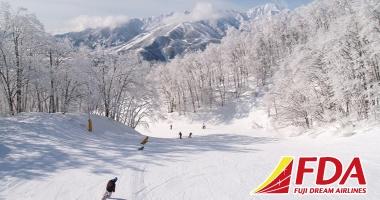 白馬岩岳スノーフィールドスキー&スノーボードツアー