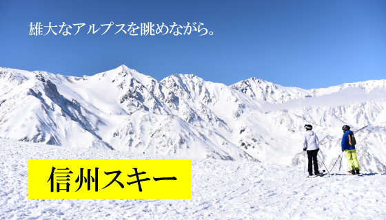 信州スキーツアー販売開始!