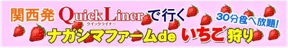 ナガシマファームで『いちご狩り♪30分食べ放題!』<br>設定日大幅に追加!!