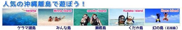 オプションサイト:沖縄離島であそぼう!