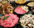 松茸と三田牛すき焼き食べ放題&有馬温泉