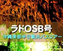 【南部・那覇発】OBS号南部半日ガンガラーの谷orおきなわワールド