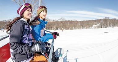 たんばらスキーパークで春スキー日帰りバスツアー