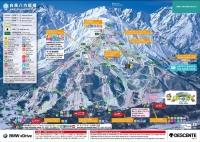 八方尾根スキー場ゲレンデマップ