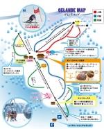氷ノ山国際スキー場ゲレンデマップ