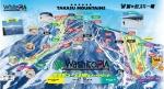 鷲ヶ岳スキー場ゲレンデマップ