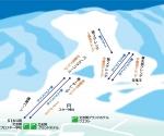 北志賀小丸山ゲレンデマップ