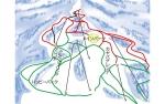 妙高池の平温泉スキー場ゲレンデマップ