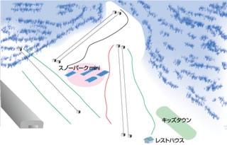 カムイみさかスキー場ゲレンデマップ